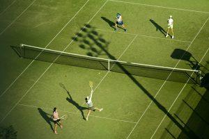 pratique du tennis